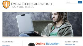 Dallas Technical Institute Online School Project